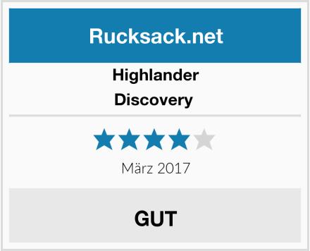 Highlander Discovery  Test