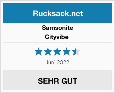 Samsonite Cityvibe  Test