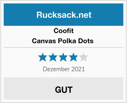 Coofit Canvas Polka Dots  Test