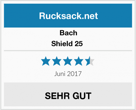 Bach Shield 25  Test