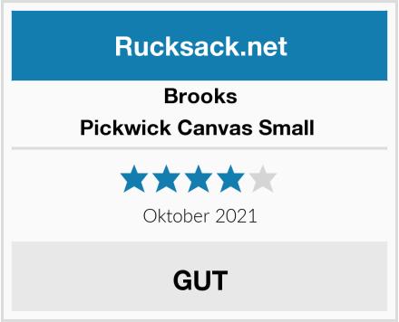 Brooks Pickwick Canvas Small  Test