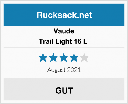 Vaude Trail Light 16 L  Test