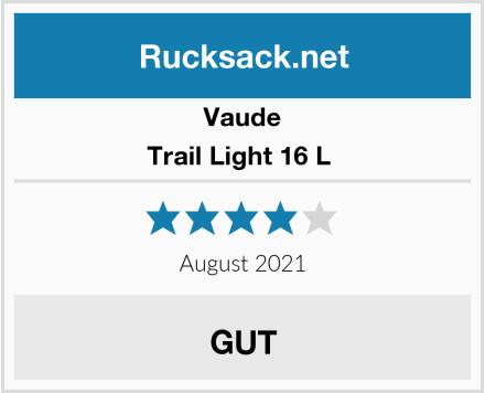 Vaude Trail Light 16 L  Test