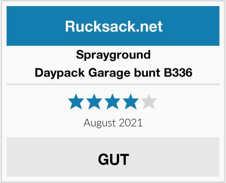 Sprayground Daypack Garage bunt B336 Test