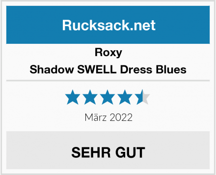 Roxy Shadow SWELL Dress Blues Test