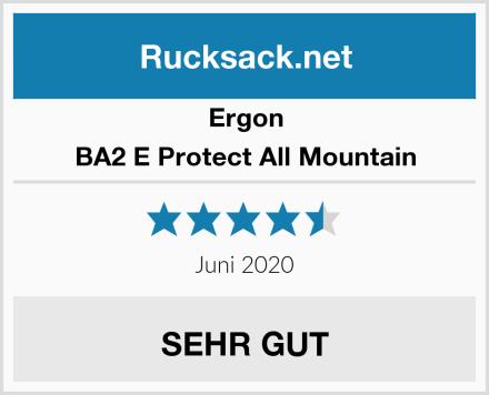 Ergon BA2 E Protect All Mountain Test
