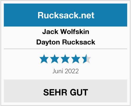 Jack Wolfskin Dayton Rucksack Test