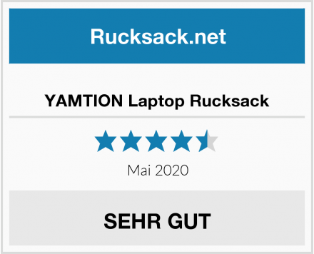 YAMTION Laptop Rucksack Test