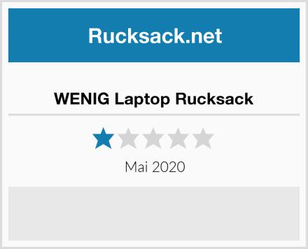 WENIG Laptop Rucksack Test