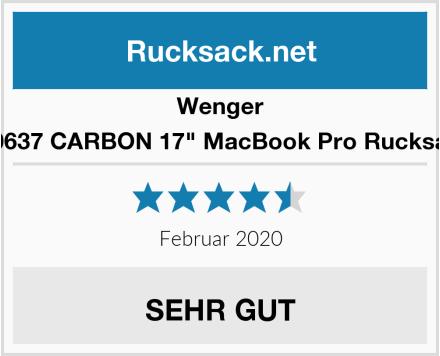 "Wenger 600637 CARBON 17"" MacBook Pro Rucksack Test"