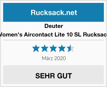 Deuter Women's Aircontact Lite 10 SL Rucksack Test