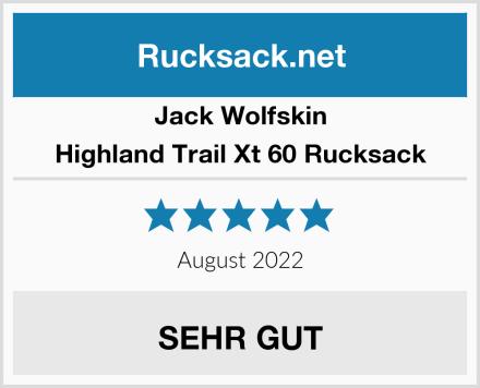 Jack Wolfskin Highland Trail Xt 60 Rucksack Test