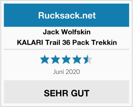 Jack Wolfskin KALARI Trail 36 Pack Trekkin Test