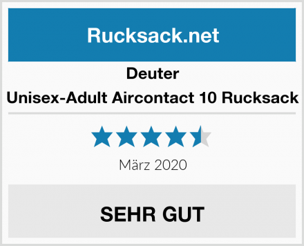 Deuter Unisex-Adult Aircontact 10 Rucksack Test