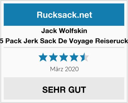 Jack Wolfskin Trt 65 Pack Jerk Sack De Voyage Reiserucksack Test