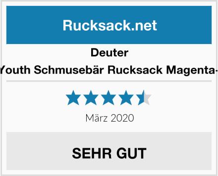 Deuter Unisex-Youth Schmusebär Rucksack Magenta-Hotpink Test