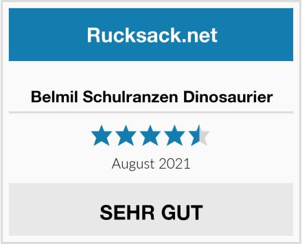 Belmil Schulranzen Dinosaurier Test