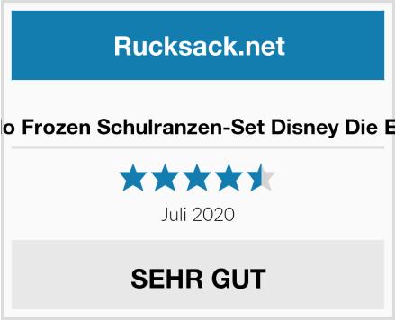 Familando Frozen Schulranzen-Set Disney Die Eiskönigin Test