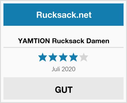 YAMTION Rucksack Damen Test