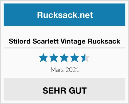 Stilord Scarlett Vintage Rucksack Test