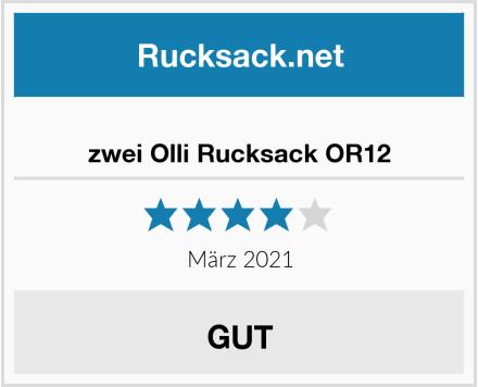 zwei Olli Rucksack OR12 Test