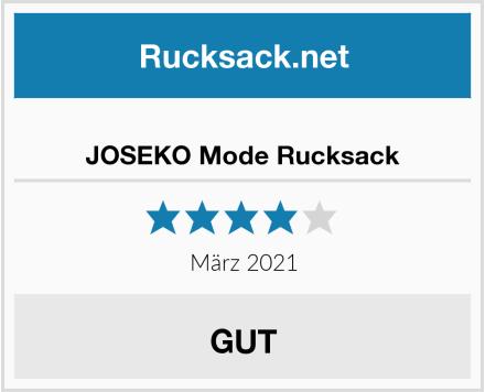 JOSEKO Mode Rucksack Test