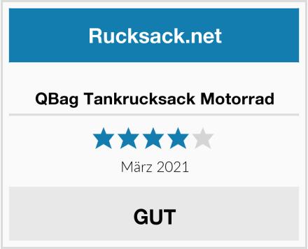 QBag Tankrucksack Motorrad Test