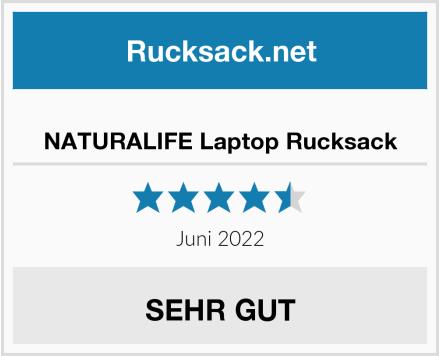 NATURALIFE Laptop Rucksack Test