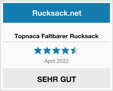 Topnaca Faltbarer Rucksack Test