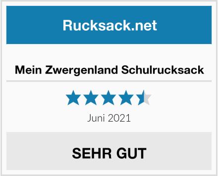 Mein Zwergenland Schulrucksack Test