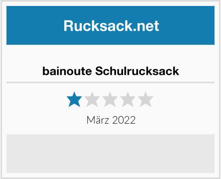 bainoute Schulrucksack Test