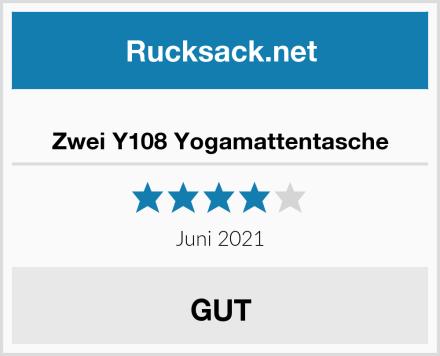 Zwei Y108 Yogamattentasche Test