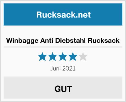 Winbagge Anti Diebstahl Rucksack Test