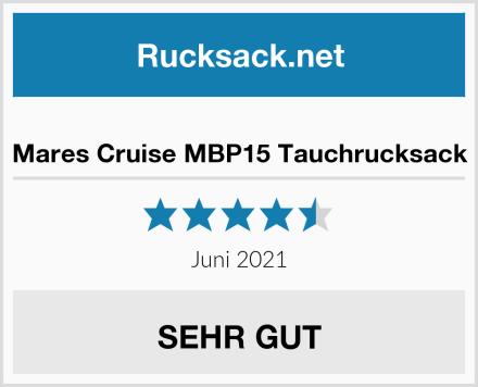 Mares Cruise MBP15 Tauchrucksack Test
