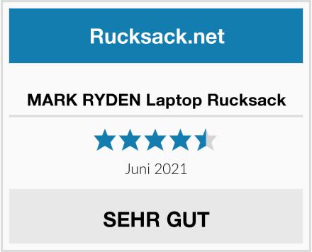 MARK RYDEN Laptop Rucksack Test