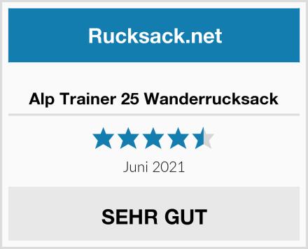 Alp Trainer 25 Wanderrucksack Test