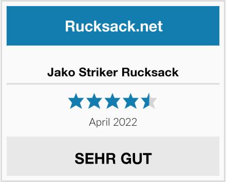 Jako Striker Rucksack Test
