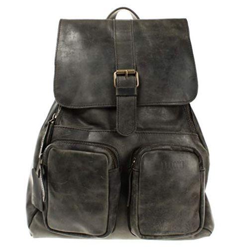 LECONI Vintage Lederrucksack